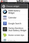 Harley-Davidson Skull Battery Widget screenshot 3/3