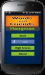 Words and Friends Hangman screenshot 1/5