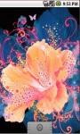 Cool Flower Abstract Live Wallpaper screenshot 2/5