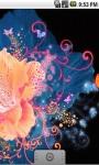 Cool Flower Abstract Live Wallpaper screenshot 3/5