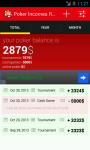 Poker Incomes Reports screenshot 1/3