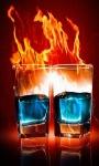 Cocktail Fire Live Wallpaper screenshot 3/3