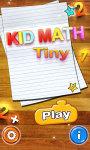 Kids Math Tiny  screenshot 1/3