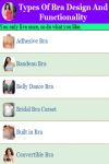Types Of Bra Design And Functionality screenshot 2/3