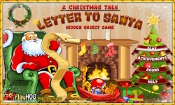 Free Hidden Object Games - Letter to Santa screenshot 1/4