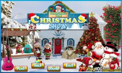 Free Hidden Object Game - Christmas Snow screenshot 1/4