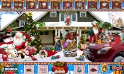 Free Hidden Object Game - Christmas Snow screenshot 3/4