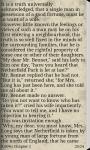 PRIDE AND PREJUDICE by Austen screenshot 2/3