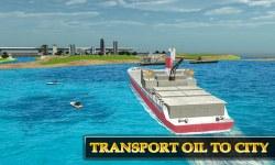 Cargo Ship Oil Transport Truck screenshot 2/3