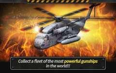 GUNSHIP BATTLE  Helicopter 3D Touch screenshot 1/3