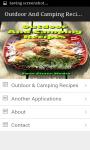 Outdoor And Camping Recipes screenshot 1/4