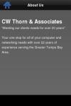 CW Thorn Assoc screenshot 2/3