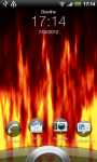 Fire Flames Live Wallpaper screenshot 1/2