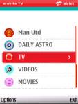 Airtel Mobile TV screenshot 2/6