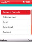 Airtel Mobile TV screenshot 4/6