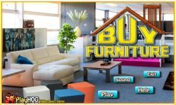Free Hidden Object Games - Buy Furniture screenshot 1/4