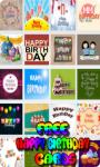 Free Happy Birthday Cards screenshot 2/6