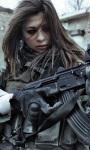 Girl Soldier Live Wallpaper screenshot 1/4