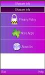 Shazam Manual screenshot 1/1