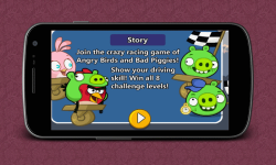 Crazy Racing Crazy Birds screenshot 1/4