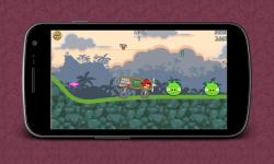 Crazy Racing Crazy Birds screenshot 4/4