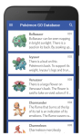 Pokémon GO Database screenshot 1/3