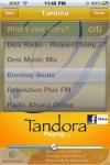 Tandora Hindi Radio - Bollywood Desi Music Pandora Radio of Indian Music screenshot 1/1