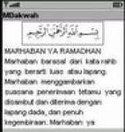 mRamadhan screenshot 1/1
