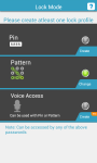 Contacts And Apps Lock screenshot 5/6