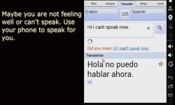 Speak For Me App screenshot 2/3