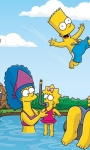 Free The Simpsons funny characters waallpaper screenshot 2/6