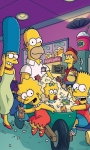 Free The Simpsons funny characters waallpaper screenshot 5/6