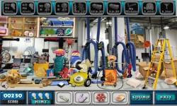 Free Hidden Object Games - Service Station screenshot 3/4