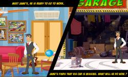 Free Hidden Object Games - The Missing Car screenshot 2/4