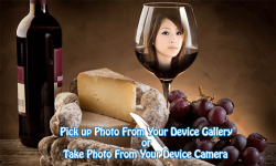 Wine Glass Photo Frame screenshot 2/4