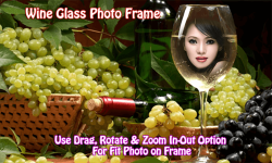 Wine Glass Photo Frame screenshot 3/4