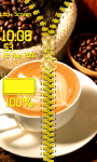 Coffee Zipper Lock Screen Free screenshot 5/6