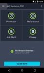 AntiVirus PRO Android Security primary screenshot 2/6