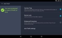 AntiVirus PRO Android Security primary screenshot 5/6