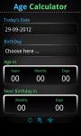 Easy Age Calculator screenshot 1/2