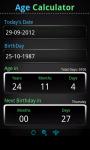 Easy Age Calculator screenshot 2/2