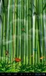Butterflies in the bamboo fore lwp screenshot 1/4