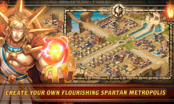 Spartan Wars: Empire of Honor by tap4fun screenshot 2/5
