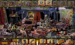 Free Hidden Object Games - Fear School screenshot 3/4