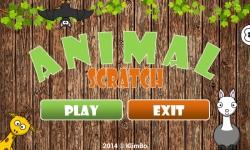 Kids Animal Scratch screenshot 1/6