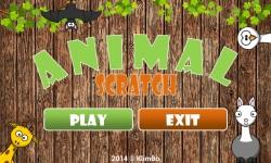 Kids Animal Scratch screenshot 2/6