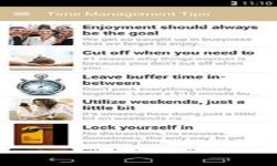 Time Management Advice screenshot 1/6