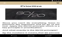 Time Management Advice screenshot 2/6