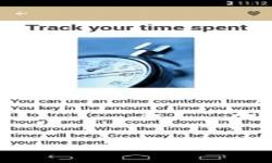 Time Management Advice screenshot 5/6