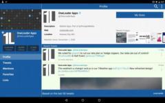 TweetCaster Pro for Twitter total screenshot 6/6